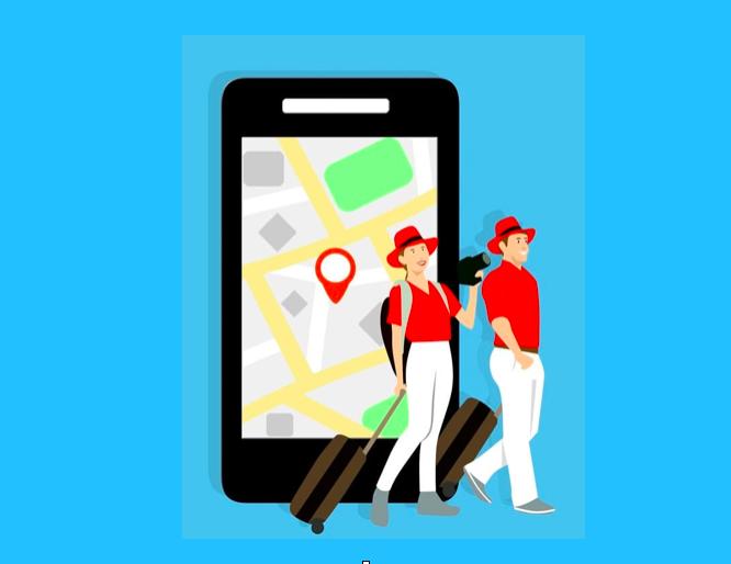 applications pour voyager - téléphone