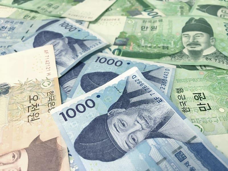 Pour payer et voyager en Corée du sud, il vous faudra changer vos euros en wons !