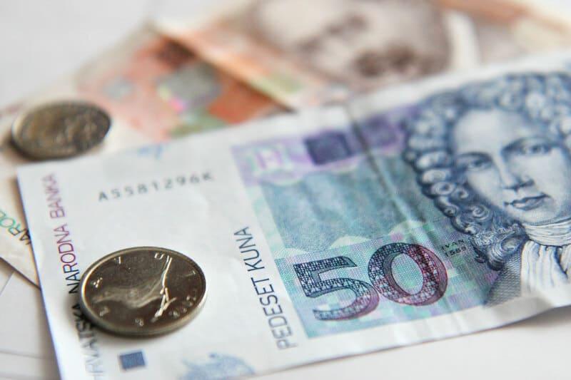voyager en Croatie - monnaie locale kuna