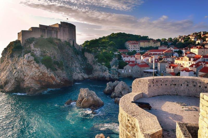 voyager en Croatie - photos de villages sur la côte