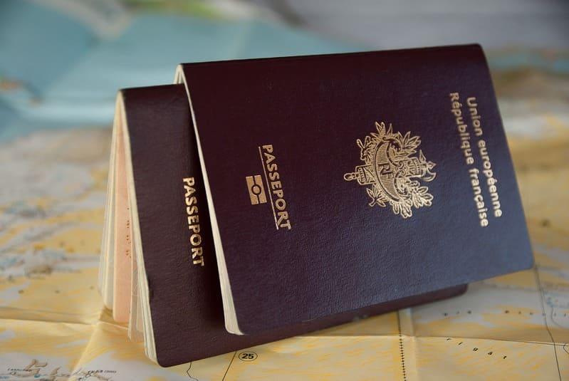 séjour au Brésil - passeport