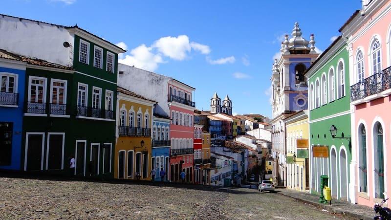 séjour au Bresil - ville brésilienne