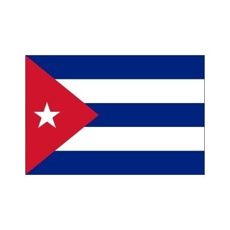 voyager à Cuba - drapeau de cuba